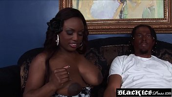 curvaceous dark-hued jada fire gets her enormous milk.