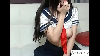 whorey korean wanking on web cam