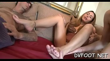 great honey gets out her uber-sexy feet and.