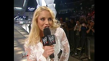 trish stratus ambling out in milky.