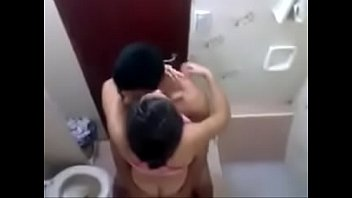 bangladeshi duo romp in shower covert.