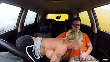 meaty bumpers sexy driving student plumbs