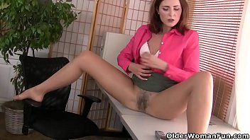 yankee cougar helena doesn039_t wear undies at the office