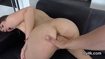 lovesome female give inhale job in point of.