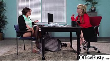 krissy lynn gigantic juggs office woman love stiff.