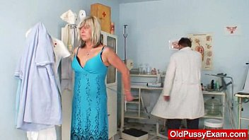 inexperienced housewife nada visits her gynecology.