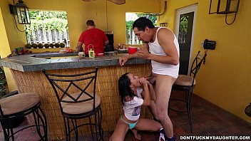 holly hendrix has some joy with her dad039_s.