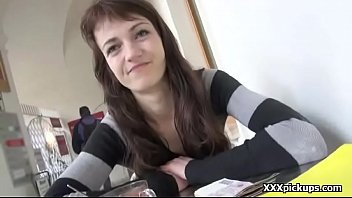 beauty euro teenage biotch entices tourist for public.