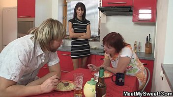 mother tempts her son039_s gf into.