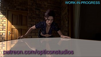 3 dimensional claire redfield from resident sinister being.