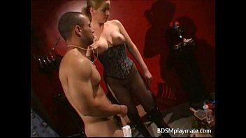a dude in nappies gets spanked and predominated.