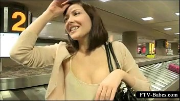 uber-cute hottie gets insatiable and demonstrate underpants in public