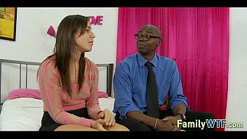 stepdaughter penetrates her ebony daddy 214