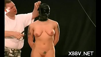 subjugated doxy covets knocker restrict bondage stimulation on.
