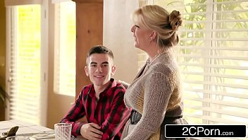 foolish boy gets lucky with mom039_s steamy mate.