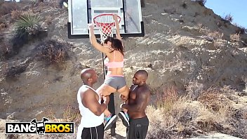 bangbros - interracial love and basketball with meaty.