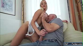 19yo daisy lee seducing her elderly step-dad to.
