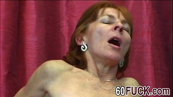 ultra-kinky grannie in ebony stocking is well-prepped for.