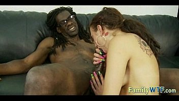 daughter-in-law drills her ebony father 187