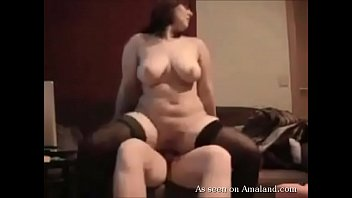 crazy plus-size in stocking bj's and.