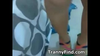 gorgeous legitimate year senior transgirl from colombia wanking off