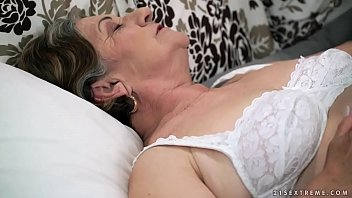 fur covered grannie gash pounded deep