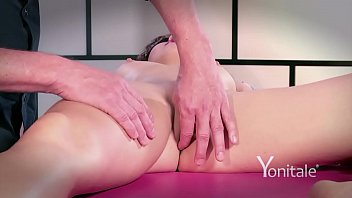 yonitale mystery lady has rubdown and real climaxes.