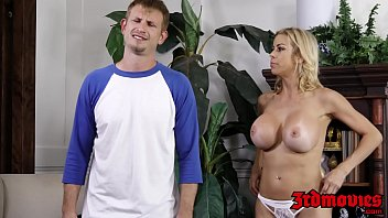 supah-hot light-haired cougar alexis fawx inhales beefstick and.