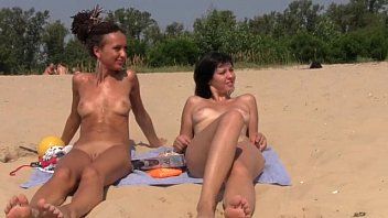 teenager nudists get nude and warmth up a.