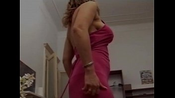 supah-hot unshaved blondie italian cougar with massive brassiere-stuffers.
