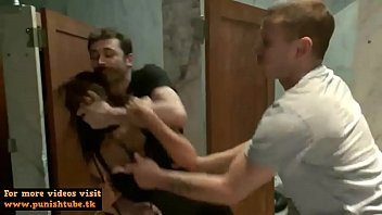 A wild rough scene with the attractive pornstars Princess Donna Dolore James Deen and Mr Pete - more