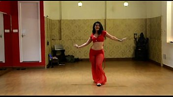 stellar scorching indian tummy dancing