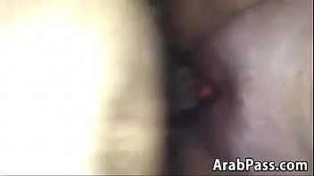 married arab duo making love point.