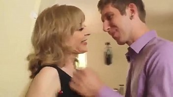 mischievous mommy smashes her youthful sonny