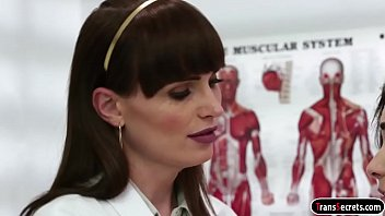 t-girl dr natalie mars eats and shagging patient.