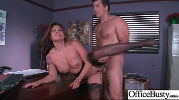 lovemaking in office with buxomy bi-atch ultra-kinky female.