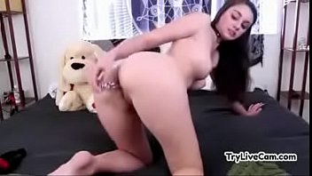 cockslut sates herself on her personal web cam.