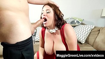 chesty maggie green blows a wood amp_ boinks.