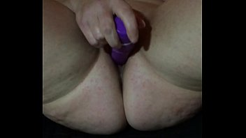 wifey milking with magic wand 1