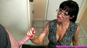 cumdrenched spex cougar jerking shaft point of glance style