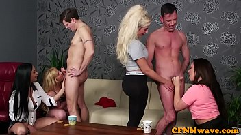 sucking cfnm cougar flashes how to.