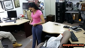 beauty fledgling ebony-haired honey pawns poon and drilled.