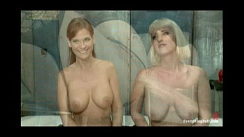 ultra-kinky massive-chested femmes get their bums pulverized and spread