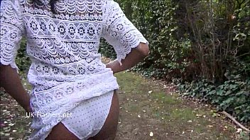 black stunner mels taunting public flashing and outdoor.