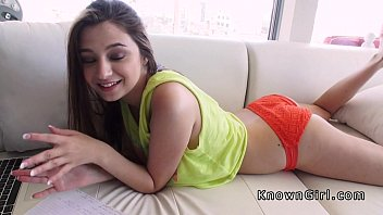 huge melons very first-timer student gf poke in homemade