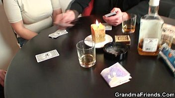 she loses in poker and gets poked by.