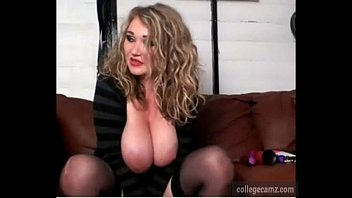wonderful blondie plumper with thick orbs converses during.