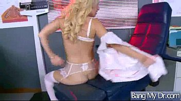 wondrous patient laura bentley get lured and ripped.