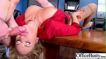 stiff hookup with giant plump juggs office female.