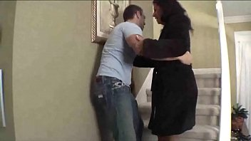 mommy plows her stepson and gets inseminated by him